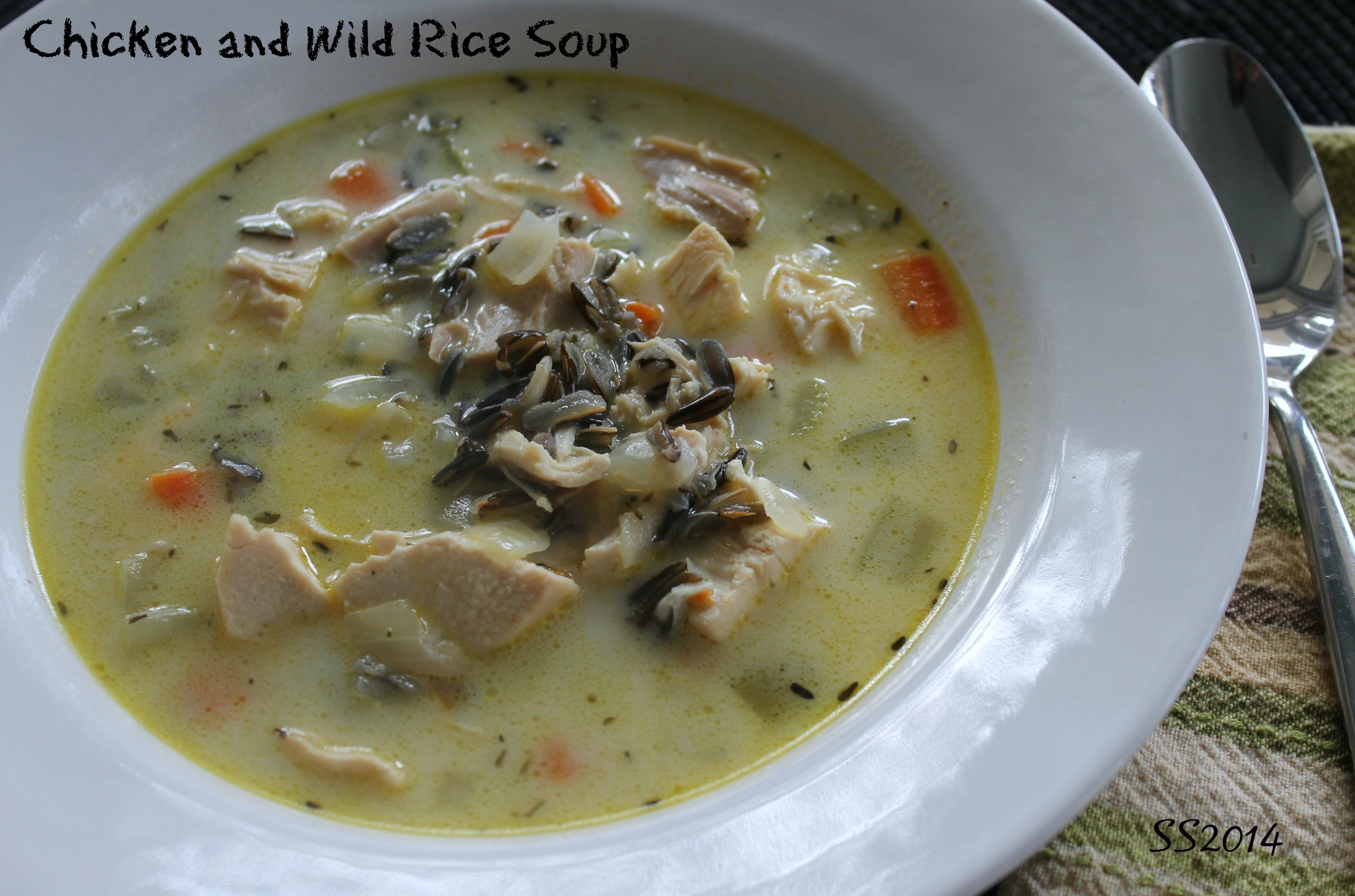 ... simple rustic chicken soup with its autumnal flavors this soup is as