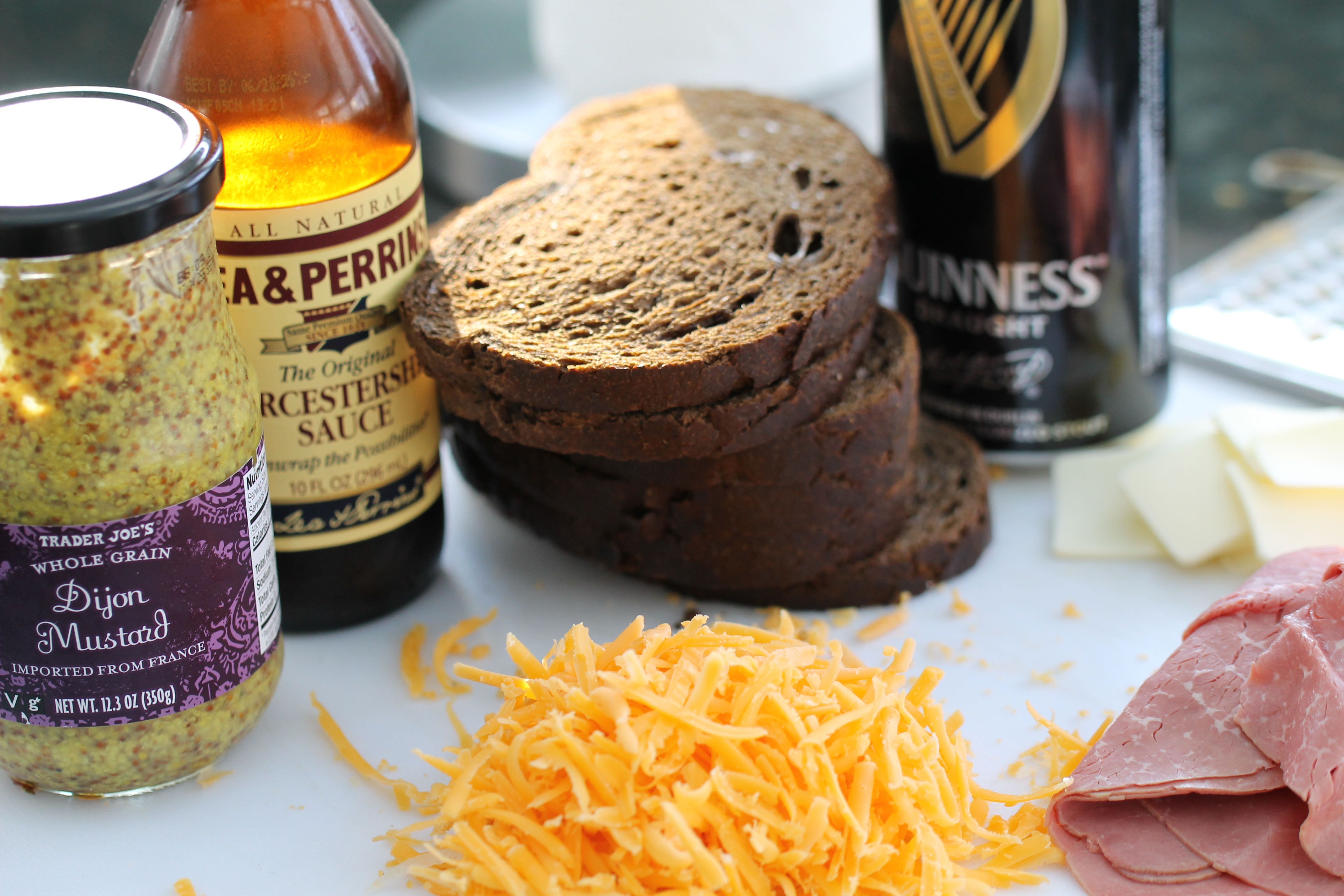 » Corned Beef Grilled Cheese Sandwich with Guinness ...